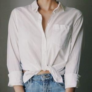 Madewell 100% Cotton Button Up Shirt
